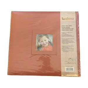 Earth tones NIP Photo album display book